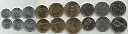 Slovenia 1993-2006. Complete Coin Set High Grade - Slovénie