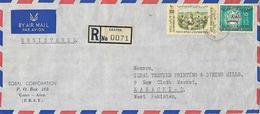 YEMEN 1970  AIRMAIL  COVER  TO PAKISTAN. - Yémen