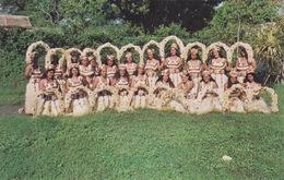TAHITI - LE GROUPE DE PUEU LAUREAT 1ER PRIX DES FETES DE JUILLET 1965  - COSTUME  ET DANSE - Tahiti