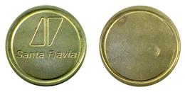 00570 GETTONE TOKEN JETON FICHA FOOD BEVERAGE DISPERNSER MACHINE SANTA FLAVIA - Non Classés