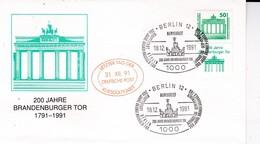 """DDR, Brief """"letzter Tag Der Kursgültigkeit"""" (B 135) - [6] Repubblica Democratica"""