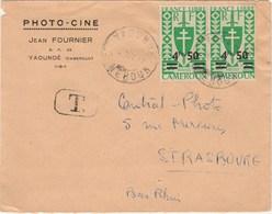 CAMEROUN  COLONIE FRANCAISE  MARCOPHILIE  N° 272  SUR LETTRE - Cameroun (1960-...)