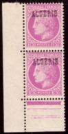 "Algérie /Algéria 1945-  French Postage Stamps Overprinted ""ALGERIE"" - # MNH # Purplish Carmine 2 X 1F50 - Algeria (1924-1962)"