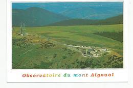 CP  (GARD) L'observatoire Du Mont Aigoual - France