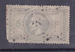 N°33° Défectueux - 1863-1870 Napoléon III. Laure
