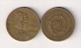 Yugoslavia 50 Dinara 1955. KM#35  VF - Yugoslavia