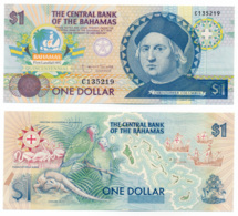 1992 // THE CENTRAL BANK OF THE BAHAMAS // Commemorative Bill // 1 Dollar // UNC - Bahamas