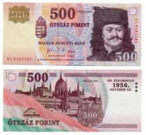 2006 // MAGYAR NEMZETI BANK // Commemorative Bill // 500 Forint // UNC - Ungarn