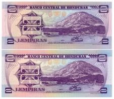 1976 // BANCO CENTRAL DE HONDURAS // Commemorative Bill // 2x 2 Lempiras // UNC - Honduras