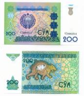1997 // OUZBEKISTAN // Commemorative Bill // 200 Sum // UNC - Ouzbékistan