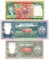 1997/2005 // NEPAL // Commemorative Bill // 25 & 50 & 250 Rupees // SPL/AU - Népal