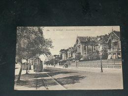 ROYAN    / ARDT   1910  BOULEVARD AVEC TRAMWAY VAPEUR   / CIRC /  EDITION - Royan