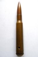 CARTOUCHE DE 12,7MM FRANCAISE - Armes Neutralisées