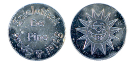 02330 GETTONE TOKEN JETON FICHA ADVERTISING VENDING AMUSEMENT SPIELOTEK SPIEL & SPASS DA PINO - Allemagne