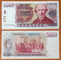 Argentina 5000 Pesos 1984-1985 UNC - Argentine