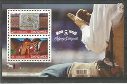 Canada 2012 Calgary Stampede Miniature Sheet Exhibitions, Fairs  Fauna Horses - 1952-.... Elizabeth II