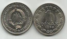 Yugoslavia 1 Dinar 1965. UNC/AUNC  KM#47 - Yougoslavie