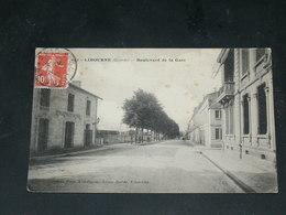 LIBOURNE   / ARDT   1910  BOULEVARD  GARE    / CIRC /  EDITION - Libourne