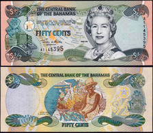 Bahamas 50 Cents 2001 UNC - Bahamas