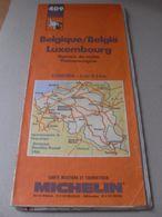 Ancienne Carte Michelin N° 409 Belgique Luxembourg - 1989 - Non Classés