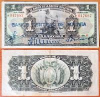Bolivia 1 Boliviano 1929 - Bolivia