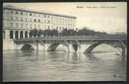Roma - Ponte Sisto - Tevere In Piena - Non Viaggiata - Rif.  03234 - Ponts