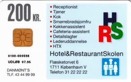 DENMARK - Hotel & Restaurant School, DD047  05/95, Tirage 1.250,  Used - Denemarken