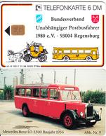 GERMANY - Bundesverband Unabhängiger Postbusfahrer 9/Mercedes Benz LO 3500(K 102 C), Tirage 6000, 01/94, Mint - Germania