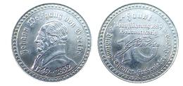 00965 GETTONE TOKEN JETON COMMEMORATIVE JOHANN WOLFGANG GOETHE FAUST - Allemagne