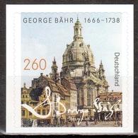 Bund MiNr. 3224 ** 350. Geburtstag Von George Bähr - Nuovi