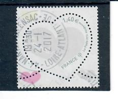 Yt 5125 St Valentin-coeur-courreges--joli Cachet Rond - France
