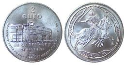 01475 GETTONE TOKEN JETON COMMEMORATIVE PRE EURO 2 EURO CHAMBERY 1997 JUMELAGE CHAMBERY - TORINO - France