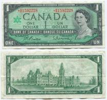 Canada 1 Dollar 1967 VF Replacement - Canada