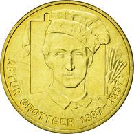 Monnaie, Pologne, Arthur Grottger, Painter, 2 Zlote, 2010, Warsaw, TTB+, Laiton - Pologne