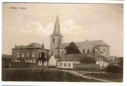 Rongy - L'Eglise - Edit. R. Destrebecq, Rongy - 2 Scans - Brunehaut