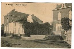 Rongy - Place De L'Eglise - Edit. R. Destrebecq, Rongy - 2 Scans - Brunehaut