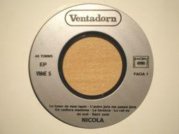 """Nicola Alziari Rare Orig French 7"""" Occitan Acid Folk Psych Jan Dau Melhau Leissem Lei Escapar - 45 Rpm - Maxi-Single"""