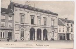 Tienen, Thienen, Tirlemont, Palais De Justice, Vredegerecht Met Politiekantoor, Ingang Met PolitiemanZeldzaam! - Tienen