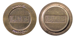 03167 GETTONE TOKEN JETON MACHINE EUROCOIN  LMS - Royaume-Uni