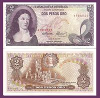 Colombia 2 Pesos Oro 1977 UNC - Colombie