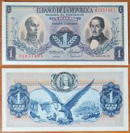 Colombia 1 Peso Oro 1973 UNC - Colombie
