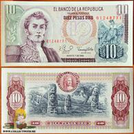 Colombia 10 Pesos Oro 1980 UNC - Colombie