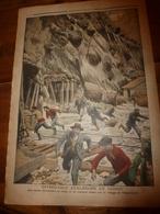 1908 LE PETIT JOURNAL:Effroyable Avalanche En Suisse;Célibataire Bien élevé;Le Peintre Maurice Granson Et Sa Femme;etc - Journaux - Quotidiens