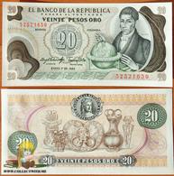 Colombia 20 Pesos Oro 1983 UNC - Colombie