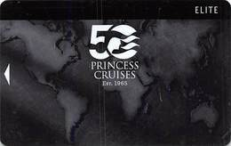 Princess Cruises - Blank Cruise Ship Room Key / ID Card With JET 07/14 44927 - Hotel Keycards