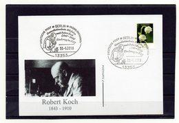 BRD, 2010, Karte Mit Michel 2794 Und Sonderstempel, Robert Koch - [7] République Fédérale