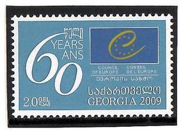 Georgia.2009 Council Of Europe-60. 1v: 2.0  Michel #577 - Georgien