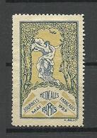 FRANKREICH France 1928 Journees Medicales Francaises Paris Advertising Stamp Vignette (*) - Advertising