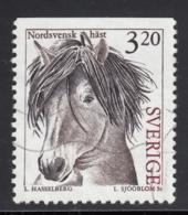 Sweden 1994 Used Scott #2047 3.20k North Sweden Horse - Suède