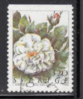 Sweden 1994 Used Scott #2072 3.20k Rosa Alba Maxima Roses - Suède